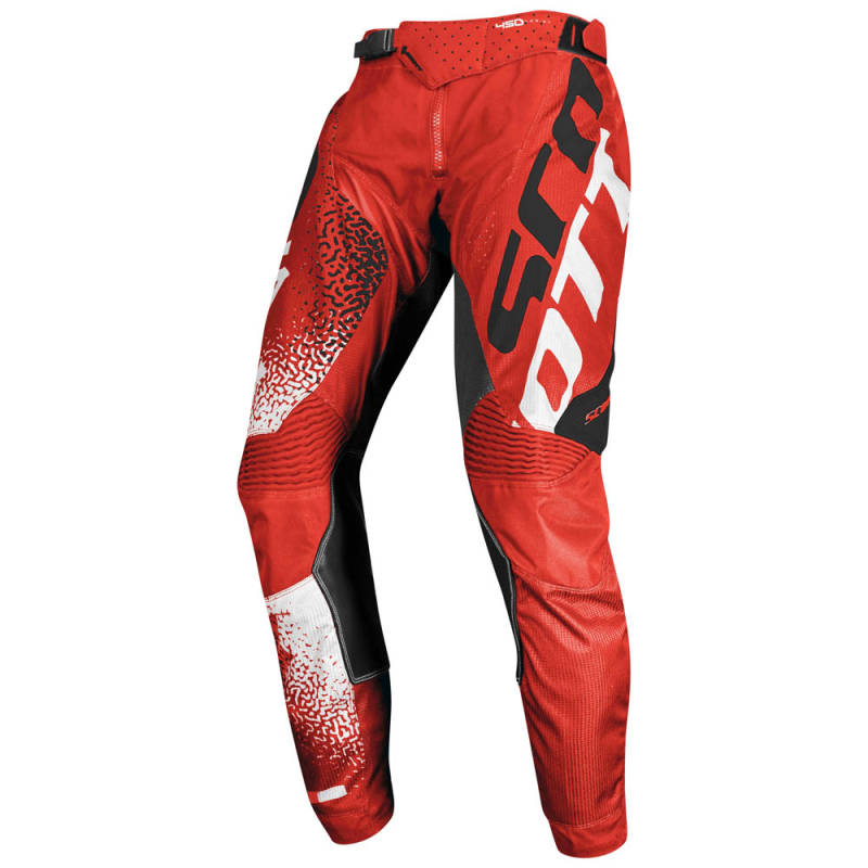 Scott 450 Noise Crossbroek 2020 Zwart/Rood