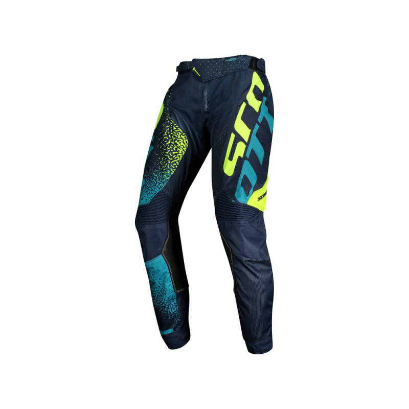 Scott 350 Noise Kids Crossbroek 2020 Blauw/Geel
