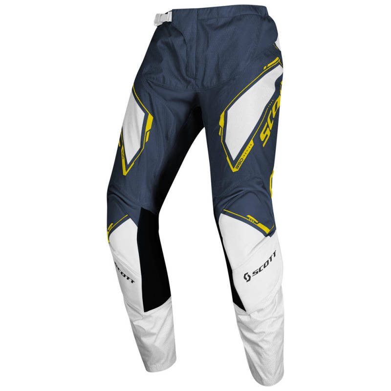 Scott 350 Dirt Crossbroek 2020 Blauw/Geel