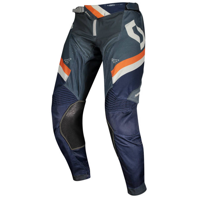 Scott 450 Podium Crossbroek 2020 Blauw/Oranje