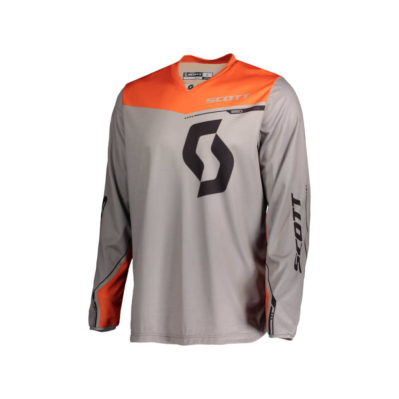 Scott 350 Dirt Kids Shirt 2020 Grijs/Oranje