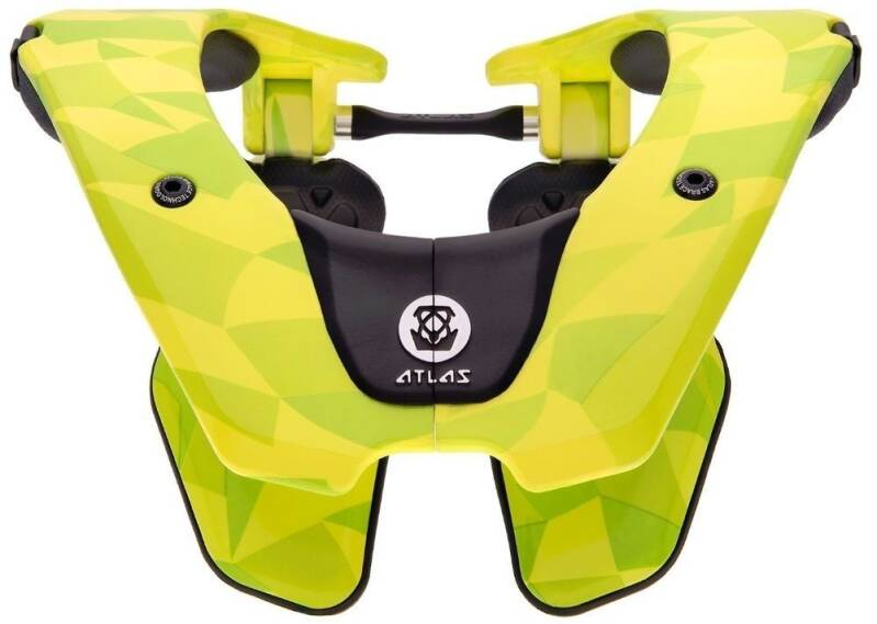 Atlas Air Neckbrace Neon Prism