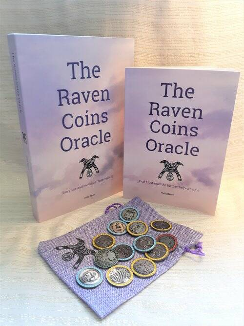 Raven coins oracle set by Hella Raven