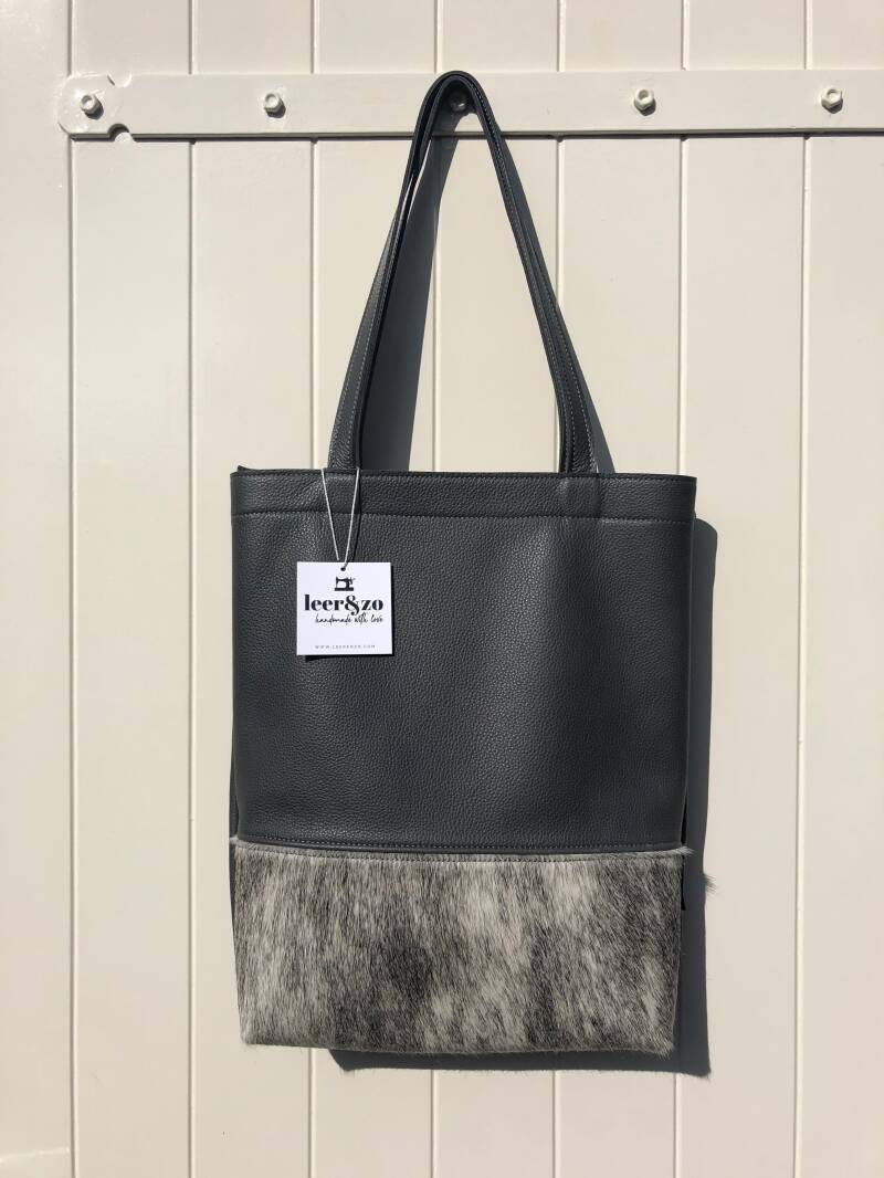 Tote Bag donkergrijs 01