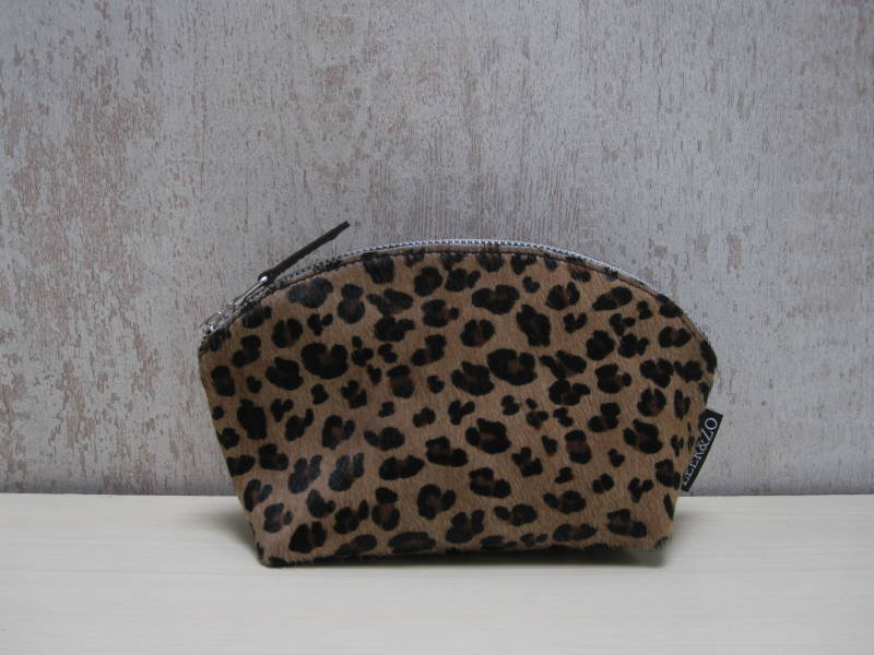 Koeienhuid make-up tas 19