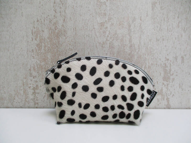 Koeienhuid make-up tas 10