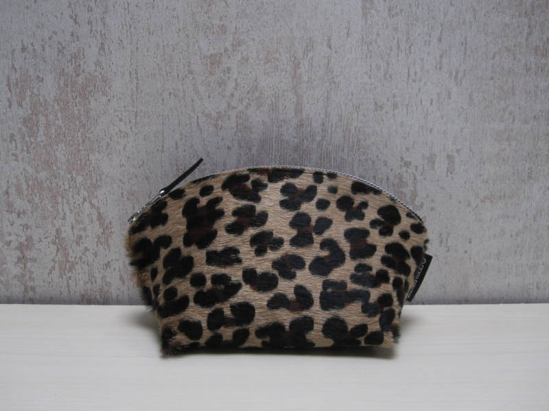Koeienhuid make-up tas 26
