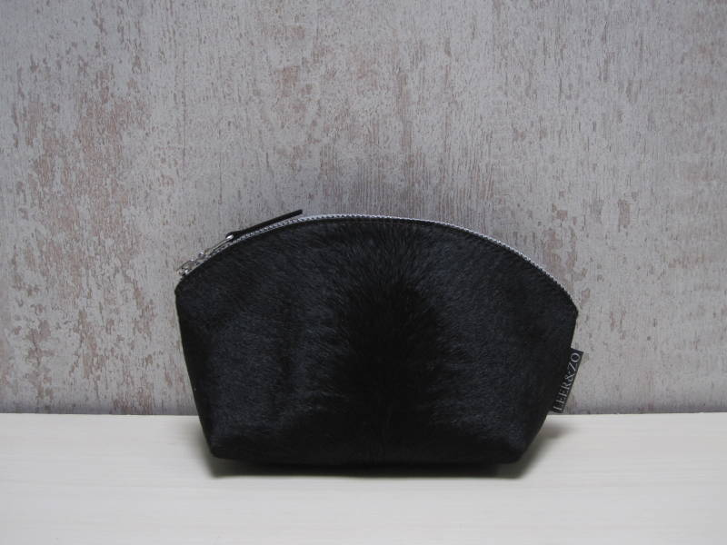 Koeienhuid make-up tas 18