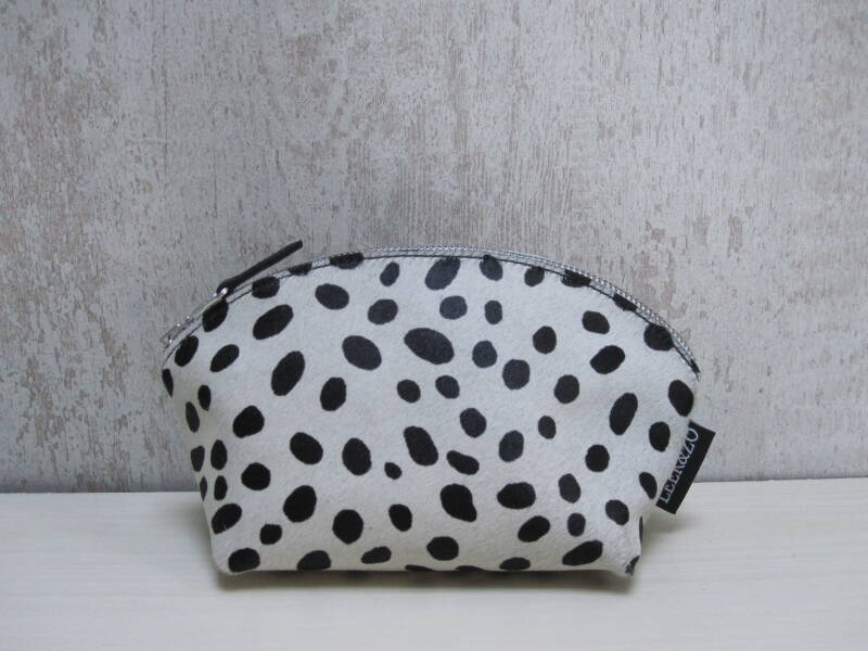 Koeienhuid make-up tas 21