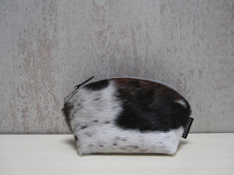 Koeienhuid make-up tas 01