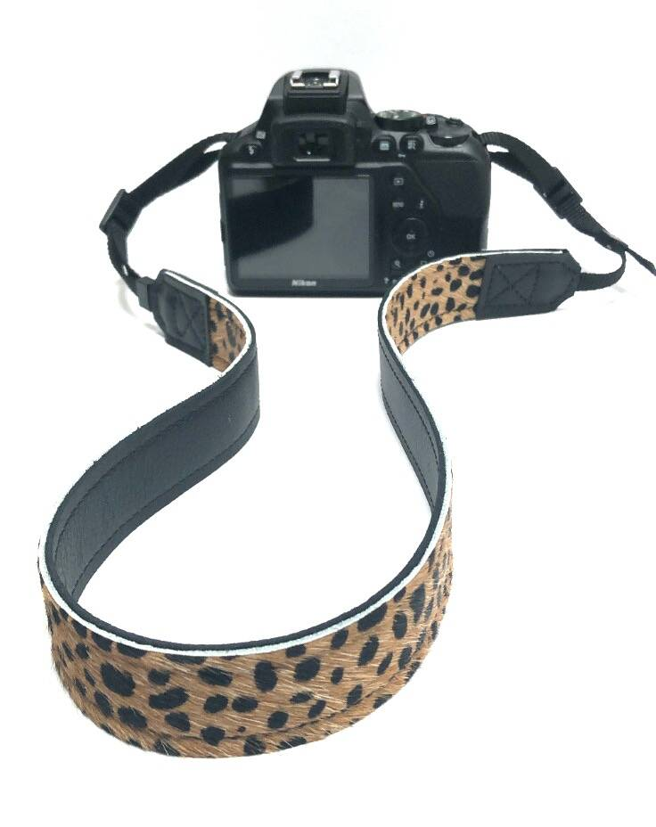 Camera riem cheetah 08