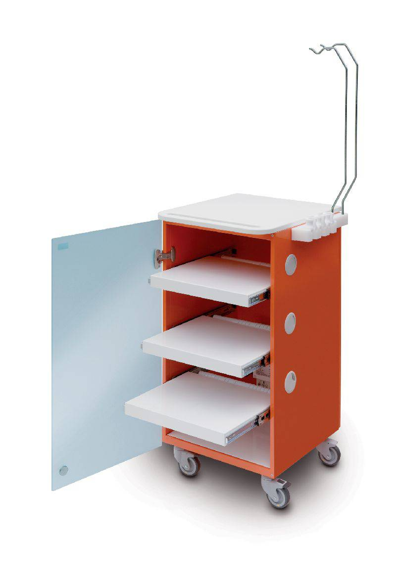 30.E0068 - LC IMPLANT SUITE 3 SHELVES (ORANGE)
