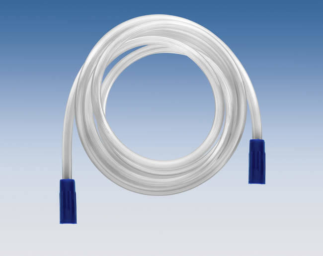 32.F7086 - SURGICAL SUCTION TUBE 1.85M WITH CONICAL FITTING (20st)