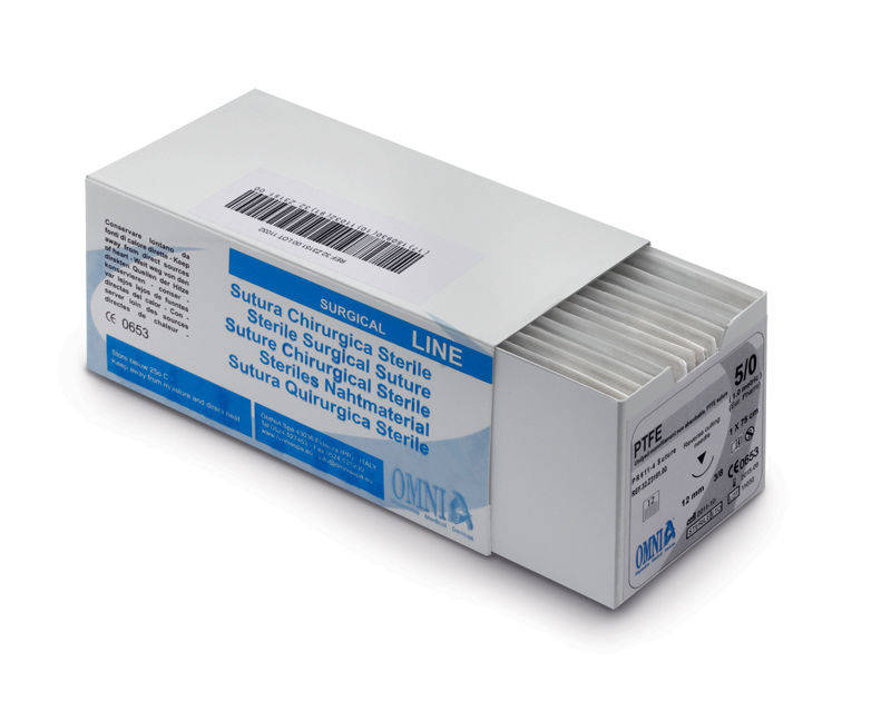 32.Z3270 PTFE SUTURE 45 cm 7/0 10mm Circle Extra Reverse Cutting (12st.)
