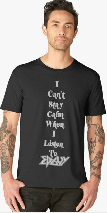 Premium T-shirt Black: Edguy - I Can't Stay