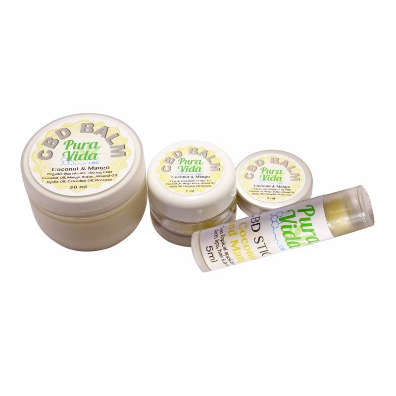 CBD creme coconut mango 2 ml