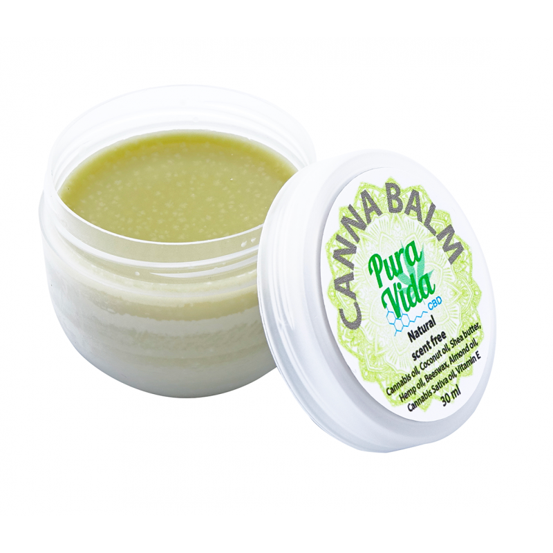 CBD creme naturel geur vrij 30 ml