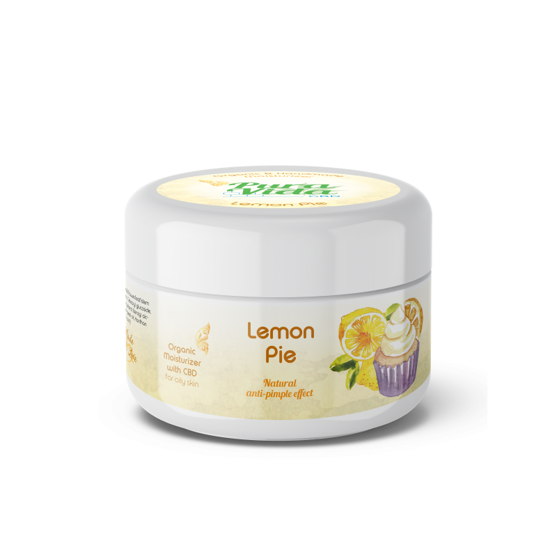 vochtinbrengende creme lemon pie met cbd 30 ml