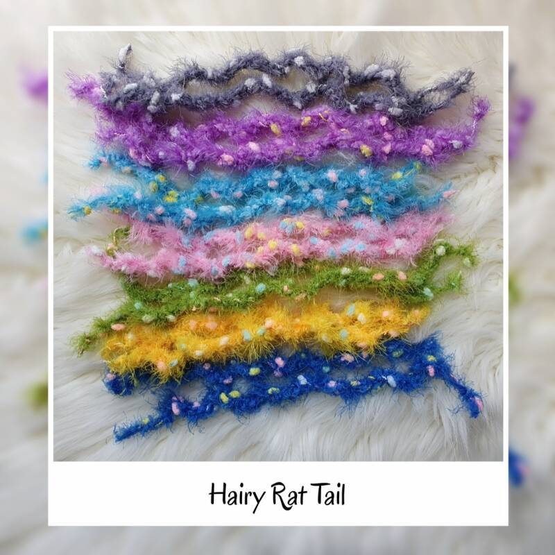 Hairy Rat Tail - 9 Colors