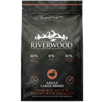 Riverwood Adult Large Breed - Eend & Kalkoen met Fazant 12 kilo