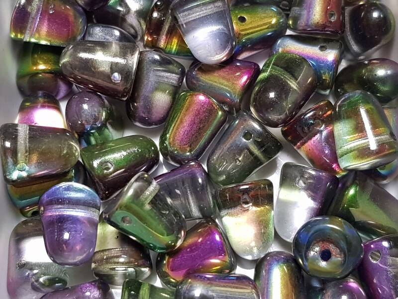 Gumdrop Beads Cry magic orchid