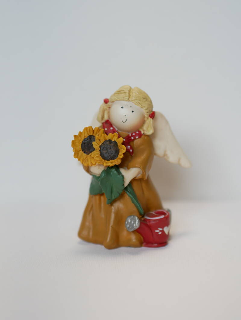 Gnomy Angel of August Hoog 9 cm