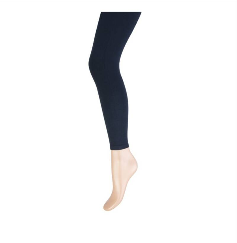 Legging in zwart en marine.