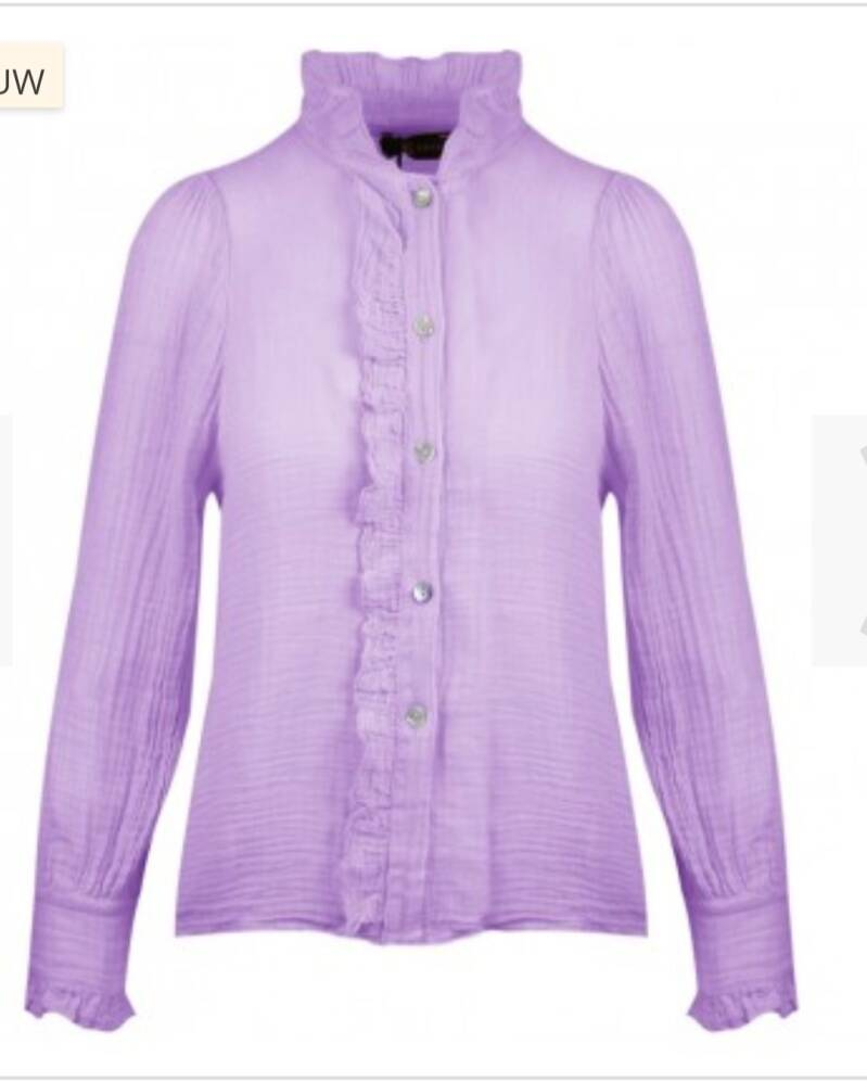 Blouse in lila