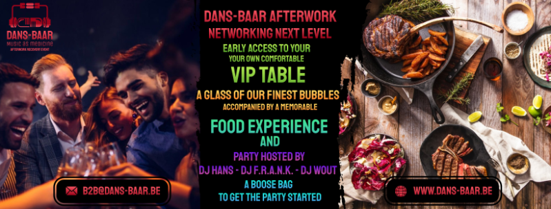 """B2B-VIP """"Table"""" and our """"Journey of tastes and Music"""" ( Min. 4 personen/gezelschap ) 10/11/2021 150 € / persoon"""