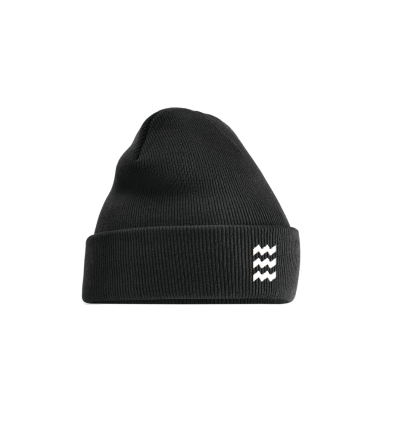 Beanie Black and White Eindhoven
