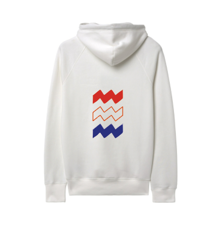 Hoodie King Big Vibes Red White Blue UNISEX