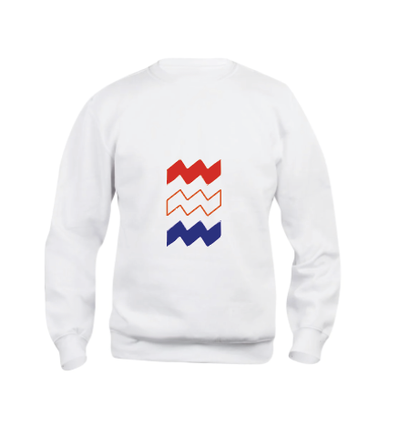 Sweater Dutchies Big Vibes Red White Blue UNISEX