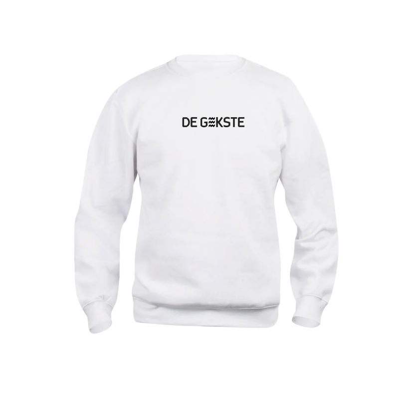 Sweater De Gekste Wit