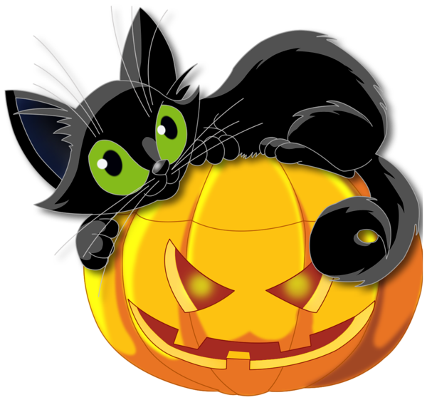 Large_Transparent_Halloween_Pumpkin_with_Black_Cat_Clipart.png