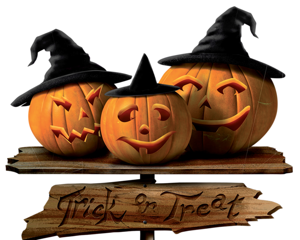 Trick_or_Treat_Sign_with_Pumpkins_PNG_Picture.png