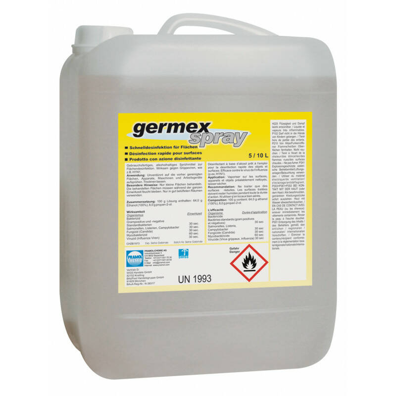 Germex spray, desinfectiemiddel