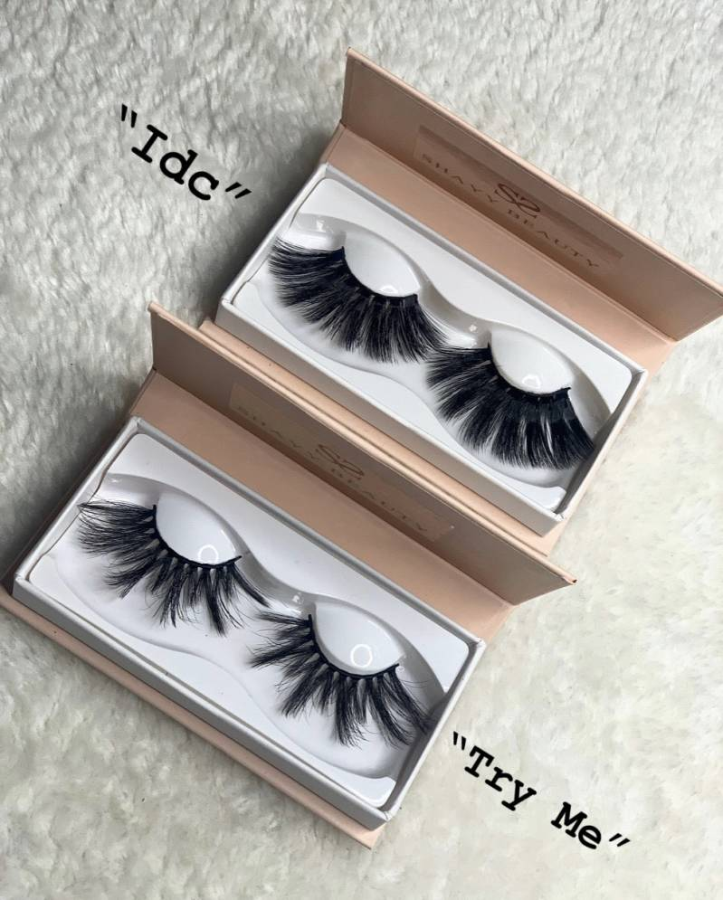 6D Lashes 25mm