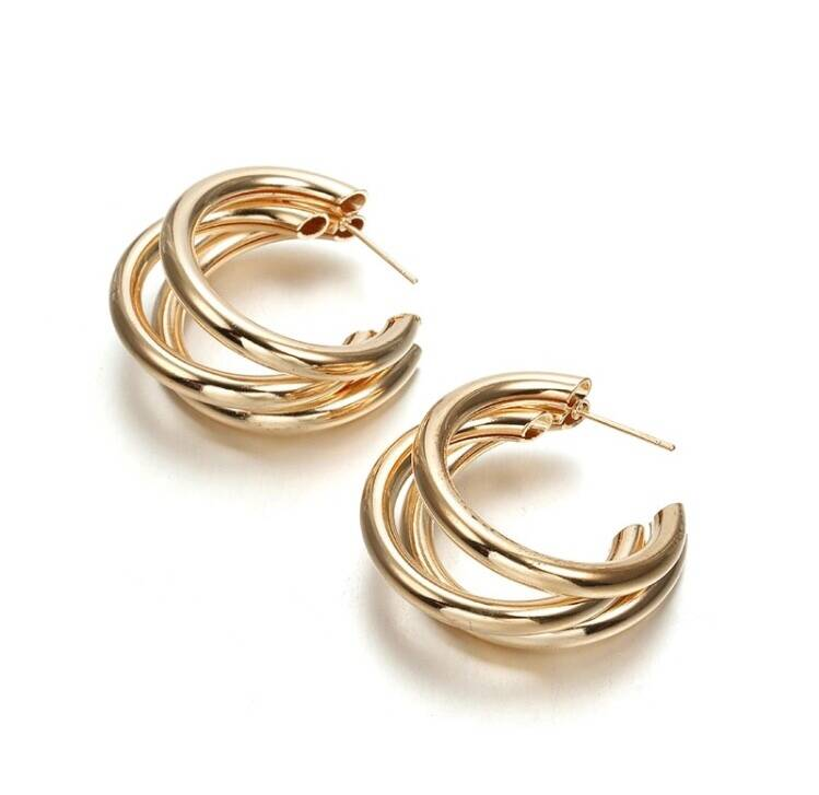 Valentina Earrings Gold