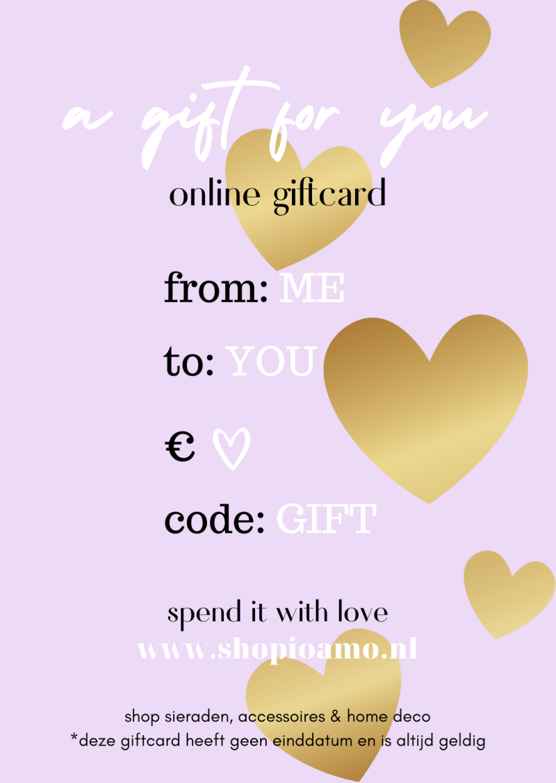 Online Giftcard Lila