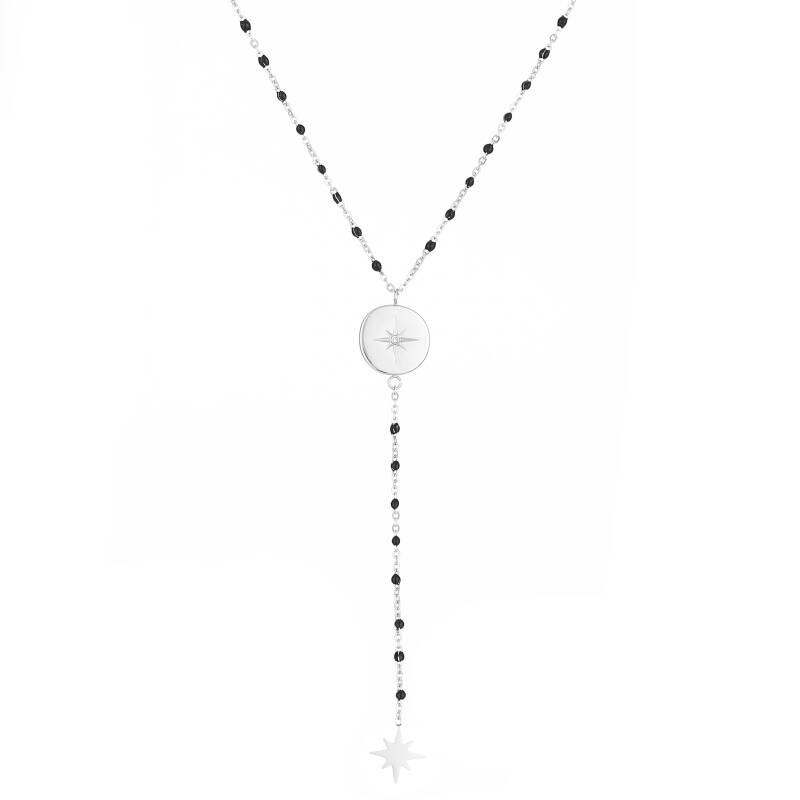 Silver Point Necklace