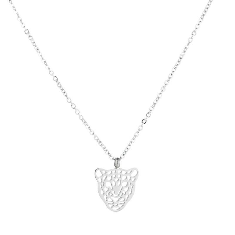 Leone Necklace Silver