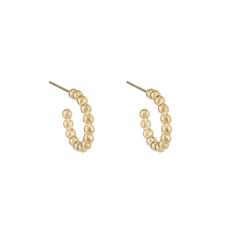 Drip Earrings Gold