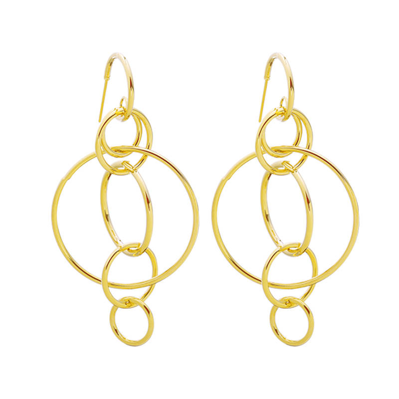 Dancing Circle Earrings