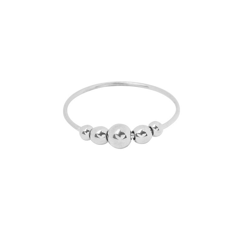 Drip Ring Silver