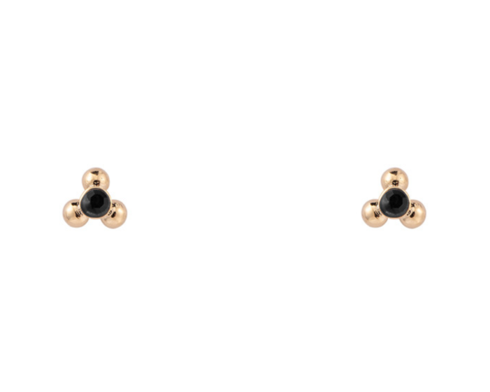 Baby Earrings Black