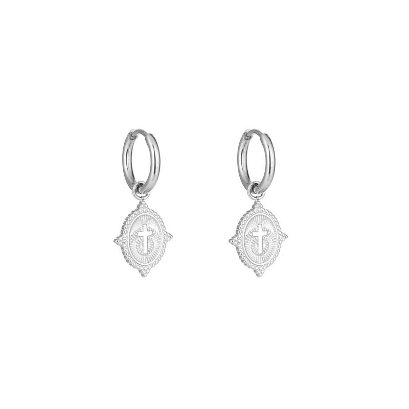 Maria Earrings Silver