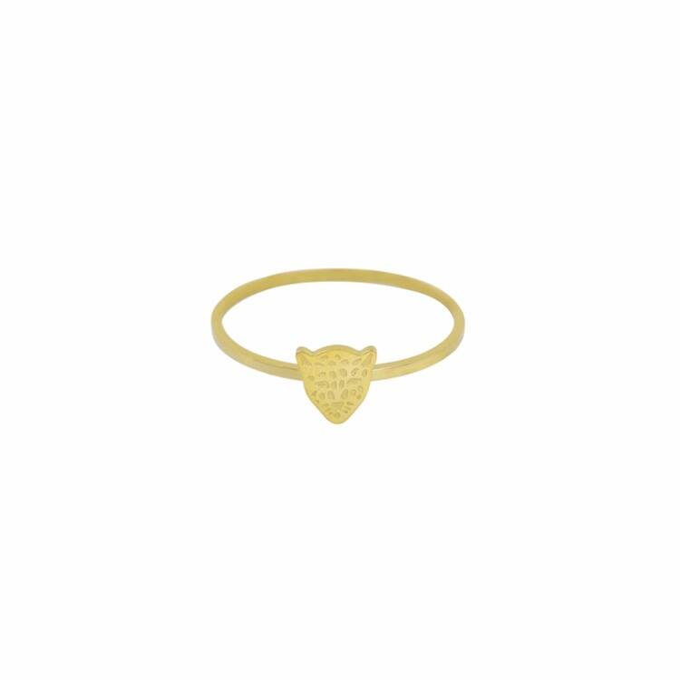 Lion Ring Gold