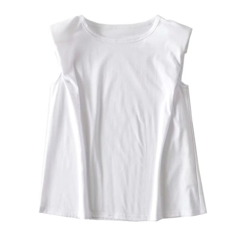 Shoulder T-shirt White