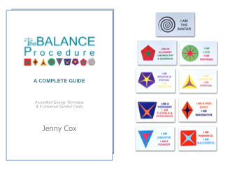 The Balance Procedure Complete Guide Book & Symbol Cards