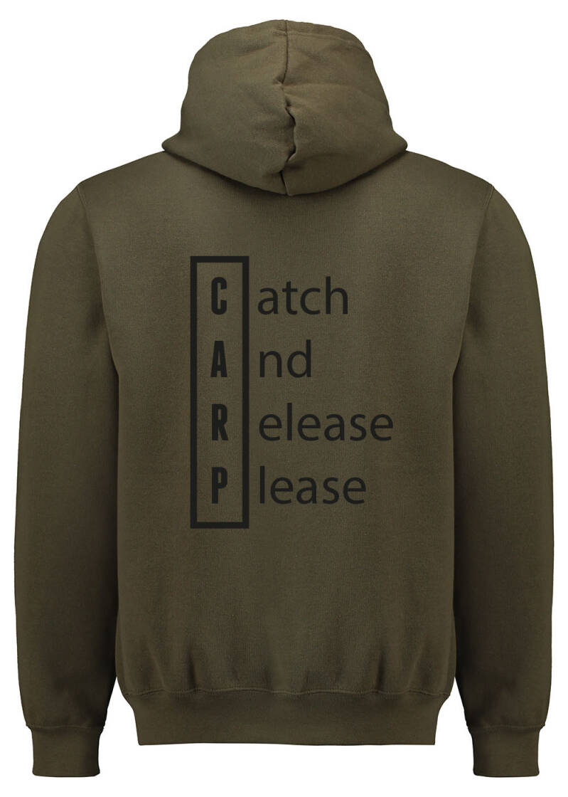 Hoodie Catch And Release Please